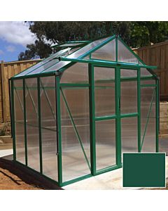 Greenhouse Four Seasons 100 green 8mm polycarbonate