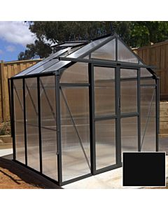 Greenhouse Four Seasons 100 black 8mm polycarbonate