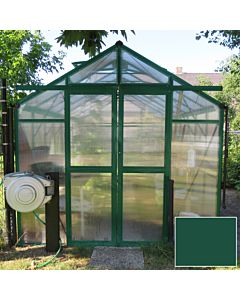 Greenhouse Four Seasons 200 green 8mm polycarbonate