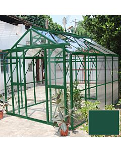 Greenhouse Four Seasons 300 green 4mm glass