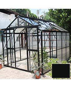 Greenhouse Four Seasons 300 black 4mm glass