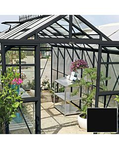 Greenhouse Four Seasons 500 black 4mm glass