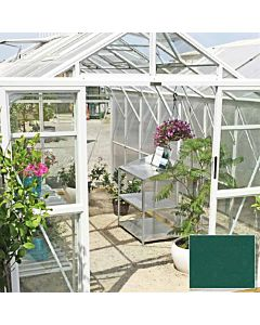 Greenhouse Four Seasons 500 green 4mm glass