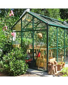 Greenhouse Prestige 200 green 4 mm glass