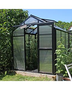 Greenhouse Prestige 100 black 8 mm polycarbonate