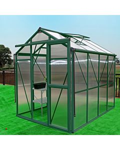 Greenhouse Prestige 200 green 8 mm polycarbonate