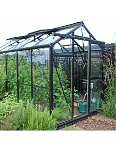 Greenhouse Prestige 200 black 4 mm glass