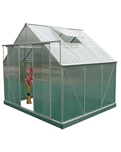 Greenhouse Four Seasons 100 green 4mm glass