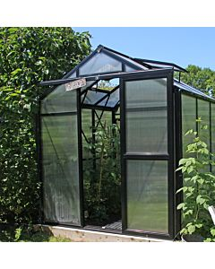 Greenhouse Prestige 200 black 8 mm polycarbonate